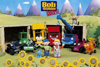 BOB THE BUILDER - sunflowers - плакат