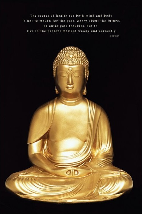 Buddha плакат