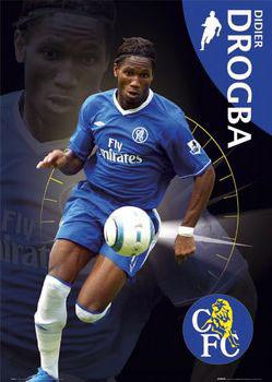 Chelsea - Drogba плакат
