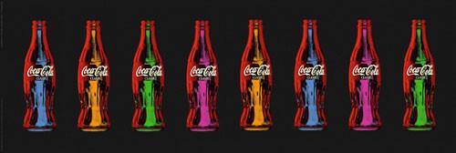 COCA COLA - popart - плакат