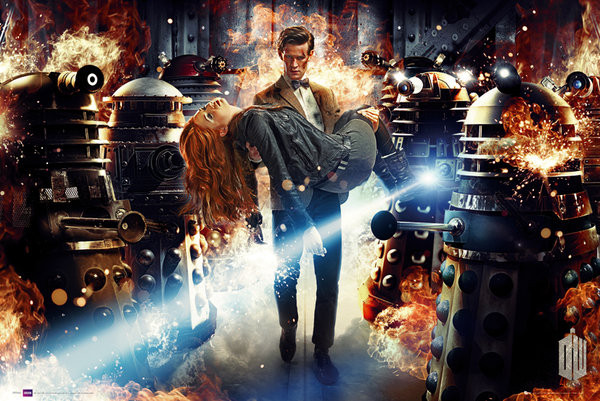 DOCTOR WHO - asylum of daleks - плакат