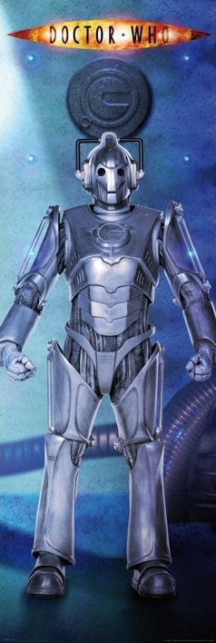 DOCTOR WHO - cyberman - плакат