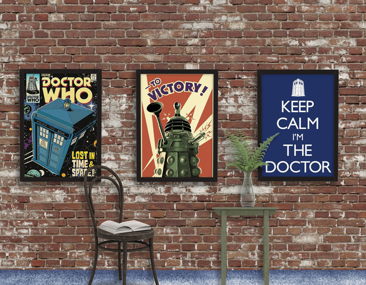 DOCTOR WHO - to victory - плакат