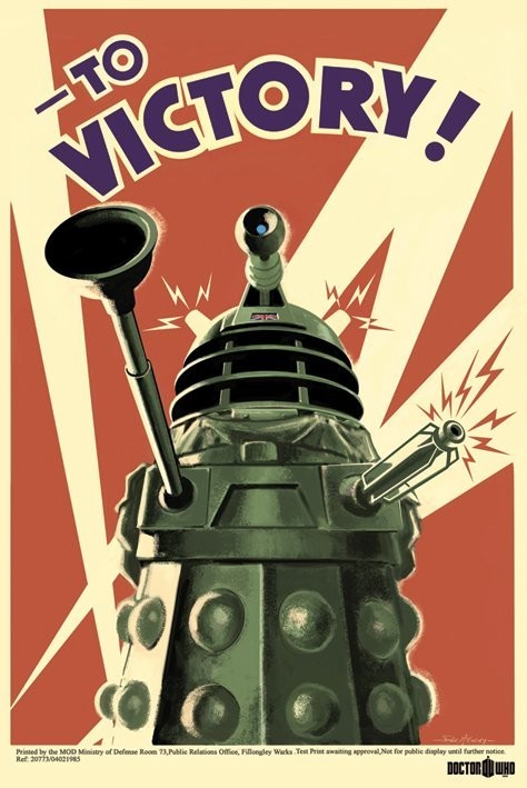 DOCTOR WHO - to victory плакат