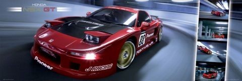 Easton NSX GT - плакат