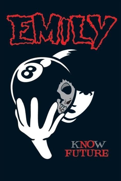Emily the strange - плакат