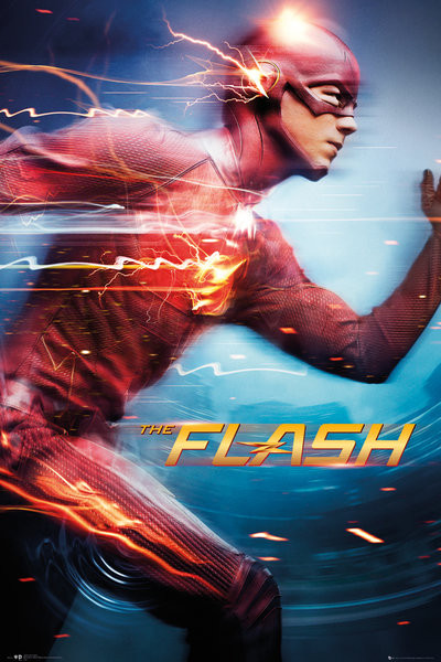 Flash - Run плакат