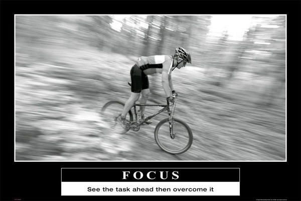Focus - barney stinson How I Met Your Mother - плакат