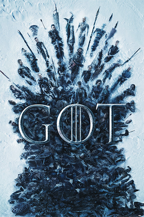 Game Of Thrones - Throne Of The Dead плакат
