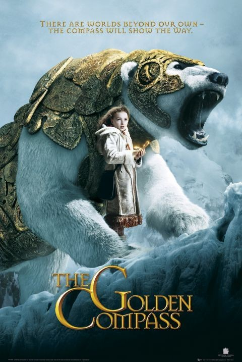 GOLDEN COMPASS - teaser плакат