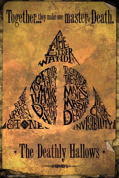 Harry Potter - Deathly Hallows плакат