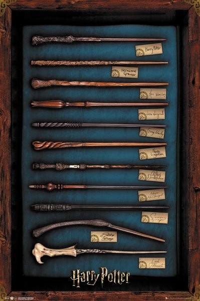 Harry Potter - Wands плакат
