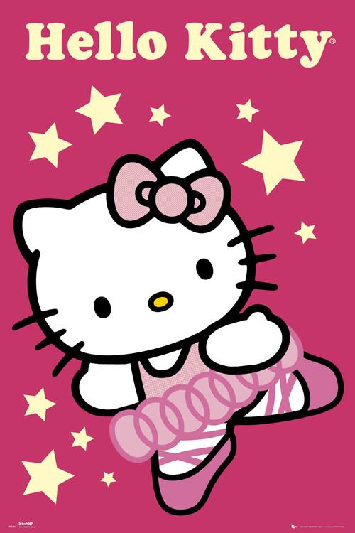 HELLO KITTY - ballerina плакат