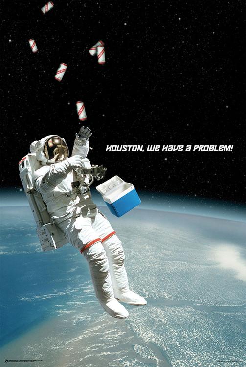 Houston, We Have A Problem! плакат