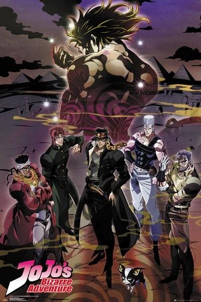 Jojo's Bizarre Adventure - Group плакат
