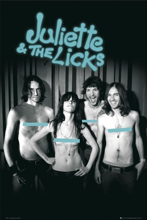 Juliette a the licks плакат