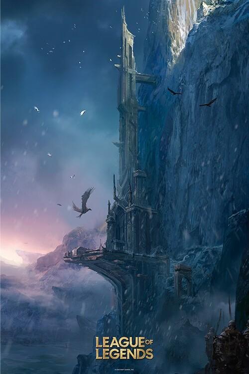 League of Legends - Howling Abyss плакат
