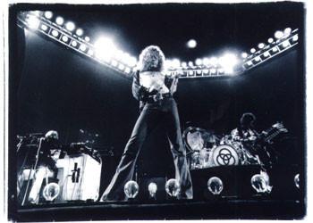 Led Zeppelin - duotone плакат