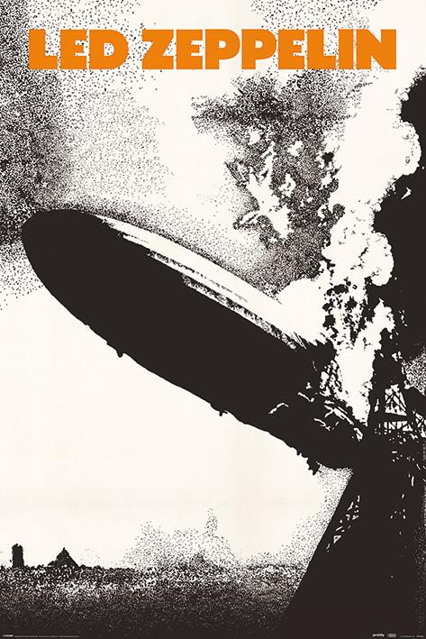 Led Zeppelin - Led Zeppelin I плакат