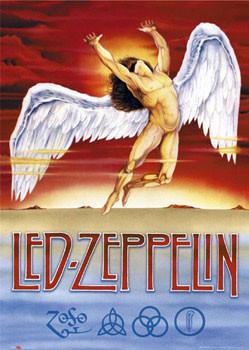 Led Zeppelin - Swan Song плакат