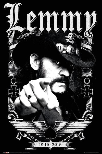 Lemmy - Dates плакат