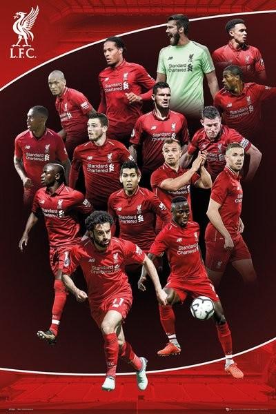 Liverpool - 2018-2019 плакат