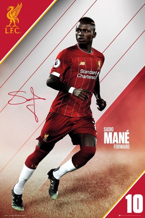 Liverpool - Mane 19-20 плакат