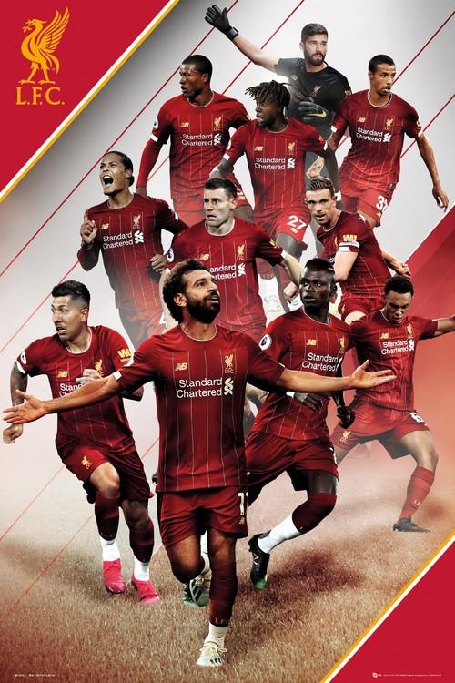 Liverpool - Players 19-20 плакат