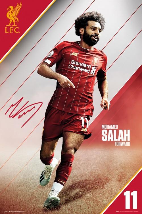 Liverpool - Salah 19-20 плакат