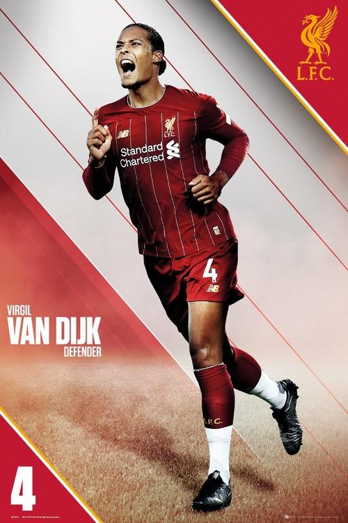 Liverpool - Van Dijk 19-20 плакат