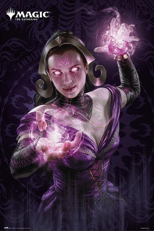 Magic The Gathering - Liliana плакат