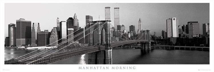 Manhattan - morning плакат
