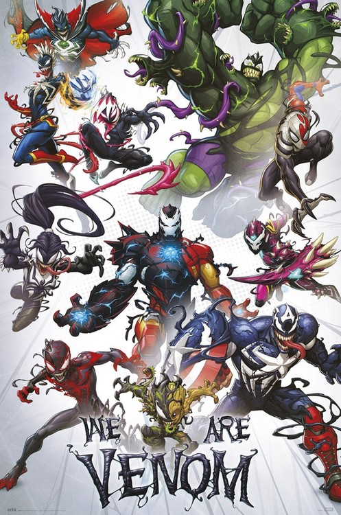 Marvel - We Are Venom плакат
