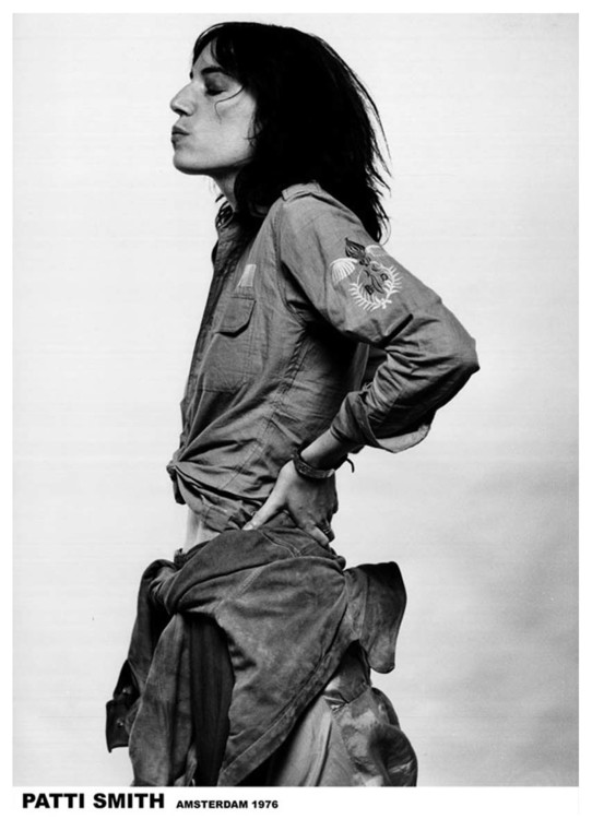 Patti Smith - Amsterdam '76 плакат