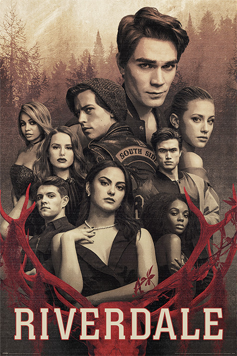 Riverdale - Let the Game Begin плакат