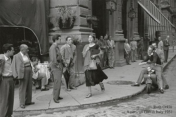 Roth Orkin - American Girl In Italy, 1951 плакат