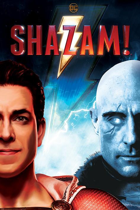 Shazam - Good vs Evil плакат