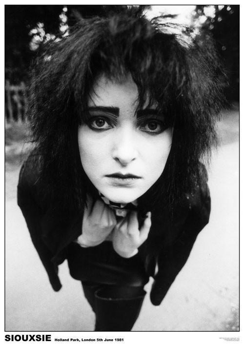 Siouxsie & The Banshees - London '81 плакат