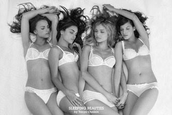 Sleeping beauties - Tanya Chalkin плакат