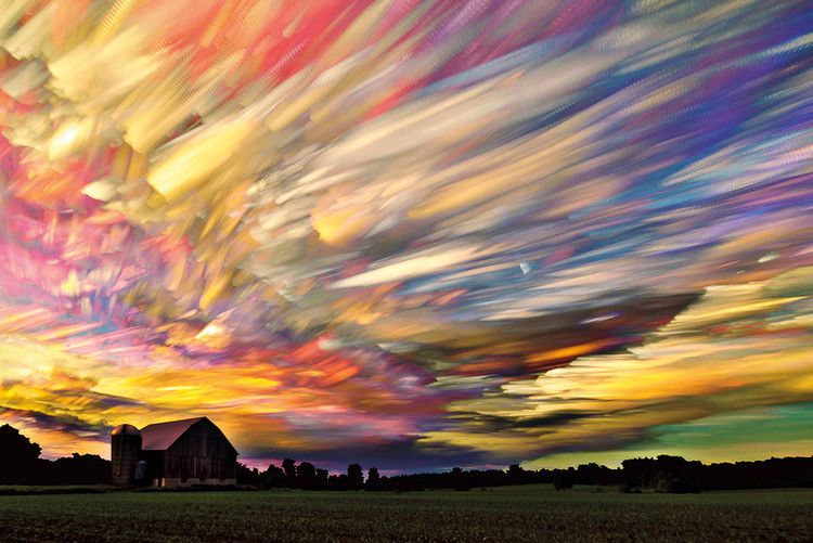 Sunset Spectrum плакат