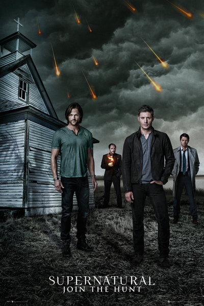 Supernatural - Church плакат