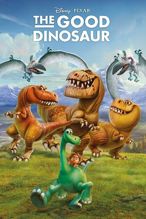 The Good Dinosaur - Characters - плакат