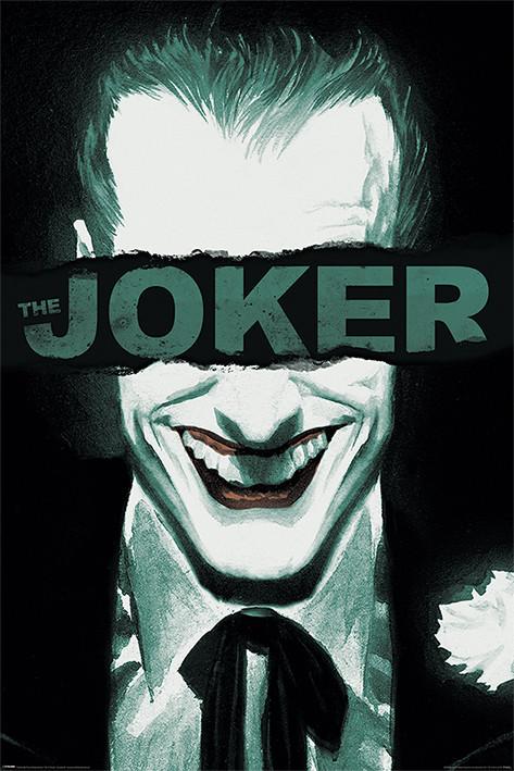 The Joker - Put on a Happy Face плакат