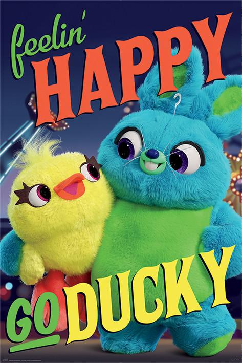Toy Story 4 - Happy-Go-Ducky плакат