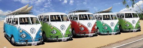 VW Volkswagen Californian Camper - плакат