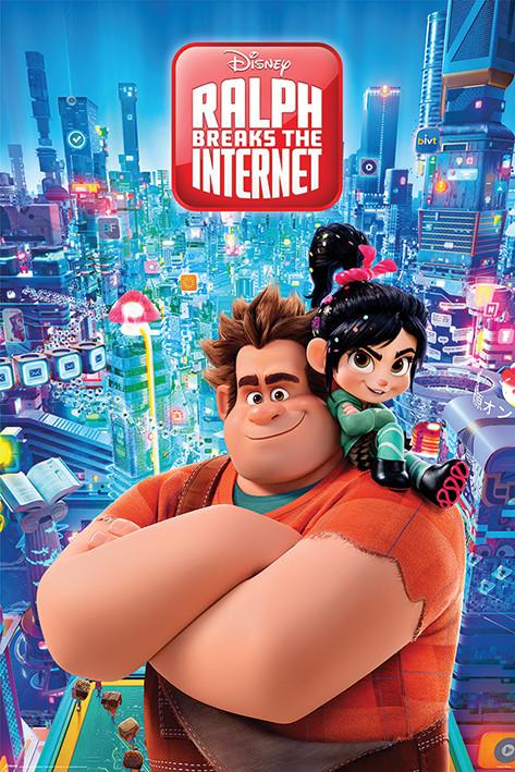 Wreck-It Ralph - Ralph Breaks the Internet плакат