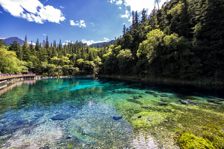 художествена фотография China 10MKm2 Collection - Beauty of Jiuzhaigou II