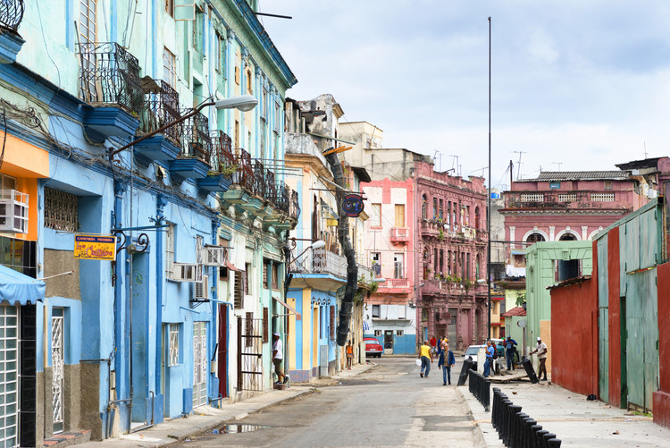 художествена фотография Colorful Architecture of Havana