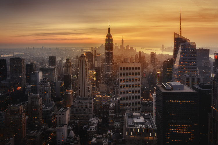 художествена фотография Manhattan's light