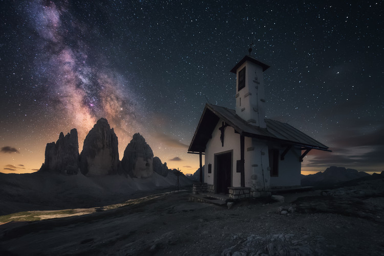 художествена фотография Mountain Chapel